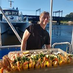 Catering on a boat by Ripkas