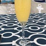mimosas on deck