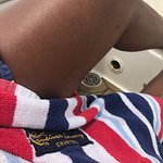 Carnival luxury towels were so cute