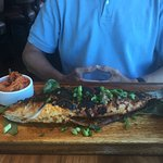 Whole Roasted Branzino (sea bass)