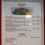Salads prices