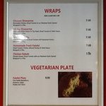 Wraps prices