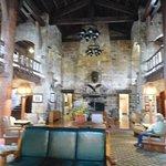 Lodge lobby interior