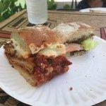 Chicken Parm and Italian Sandwich
