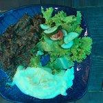 Карамелизированная говядина в пивном маринаде