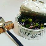 La Colombe's signature (and most whimsical) tuna dish