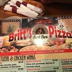 Foto van Britt's Coal Fire Pizza