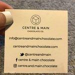 Business Card - Back + Social Media tags