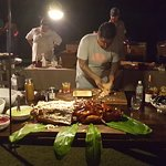 Aaron Sanchez and his Tacos al pastor