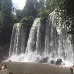 Awesome waterfall at Kulen mountain