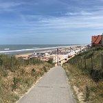 De Haan beach Foto