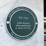 The Little Richard plaque