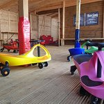 Bouncy Fun Play open in the Summer Holidays in Upton Country park - didi cars