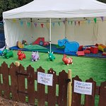 Bouncy Fun Play with Get Up and Bounce open in the Summer Holidays in Upton Country park soft pl