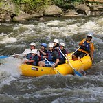 We have just launched and 2 minutes later we were into the rapids.