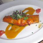 Grilled Tangerine Salmon