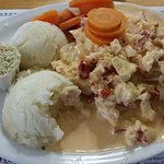 Hot lobster plate
