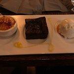 Dessert: chocolade taart