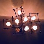 ну просто лампа на потолке, но понравилась