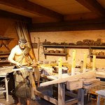 Awesome displays of the woodworking that might have been on the Ark