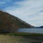 Lago Puelo en invierno.