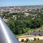 Birmingham from the feet of Vulcan