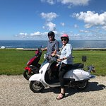 Enjoyed Taking the Scooters around Kennebunkport!