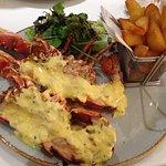 Lobster with hollandaise ( specials ) main restaurant