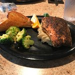 The special of the day, Blackened Salmon was very good