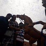 Bahubali set visit with family in Ramoji Film City. Its a huge set.