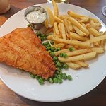 Fish and chips ( COD)