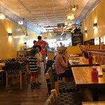 Inside Falafel King