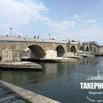 Foto van Old Stone Bridge