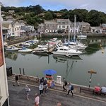 Padstow harbour from our room