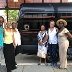 Visiting Charleston with my Book Club. This tour emphasizes the rich legacy of the ancestors!.