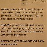 More fish preparation options