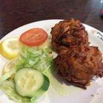 Onion Bharji for starter