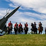 Royal Canadian Mounted Police (RCMP) and Calgary Police Service Mounted Unit at War Horses 2017