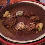 Injera and other dishes