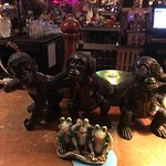 Eclectic Bar Items / Monkeys and Frogs