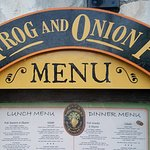 Foto de Frog and Onion Pub