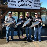 Fun day on the bay-Great fillets for dinner
