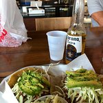 Fish tacos of the day - amazing