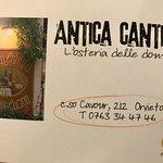 Antica Cantina의 사진