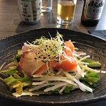 Menu Maruya (19,50€) : entrée du jour,saumon
