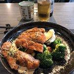 Menu Maruya (19,50€) : plat du jour,poulet pané