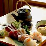 Signature Thick Cut sashimi (raw seafood)
