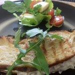 Chicken Mayo with toasted Ciabatta