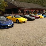 Lotus Enthusiasts Scotland (LEGS) line up