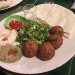 Falafel bij Akar cafe
